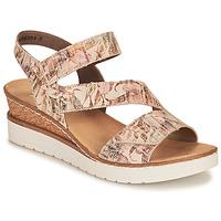 Chaussures Femme Sandales et Nu-pieds Rieker CASSIE Multicolore