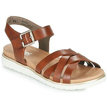 Chaussures Femme Sandales et Nu-pieds Rieker NORRA Marron