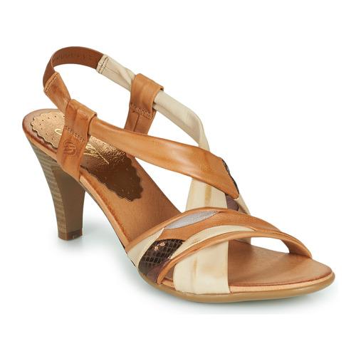 Chaussures Femme Sandales et Nu-pieds Betty London POULOI Cognac