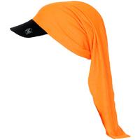 Accessoires textile Casquettes Buff Tubulaire avec visière Orange