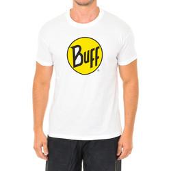 Vêtements Homme T-shirts manches courtes Buff T-shirt court / s Blanc