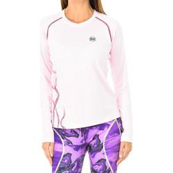 Vêtements Femme T-shirts manches longues Buff Chemise technique à manches longues Rose