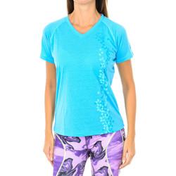 Vêtements Femme T-shirts manches courtes Buff T-shirt court / s Bleu
