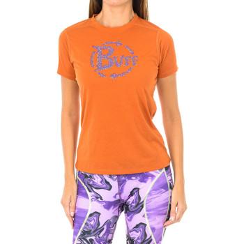 Vêtements Femme T-shirts manches courtes Buff T-shirt court / s Orange