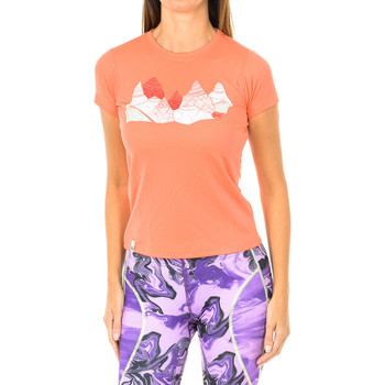 Vêtements Femme T-shirts manches courtes Buff court / s technique Orange
