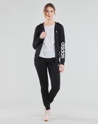 Vêtements Femme Ensembles de survêtement adidas Performance W LIN FT TS Noir