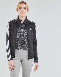 Vêtements Femme Vestes de survêtement adidas Performance W 3S TJ Noir