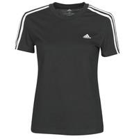 Vêtements Femme T-shirts manches courtes adidas Performance W 3S T Noir