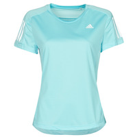 Vêtements Femme T-shirts manches courtes adidas Performance OWN THE RUN TEE Bleu