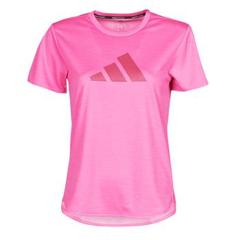 Vêtements Femme T-shirts manches courtes adidas Performance BOS LOGO TEE Rose