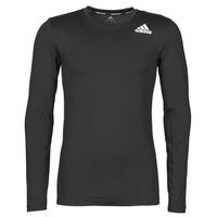 Vêtements Homme T-shirts manches longues adidas Performance TF LS Noir
