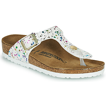 Chaussures Fille Tongs Birkenstock GIZEH Blanc