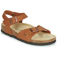 Chaussures Fille Sandales et Nu-pieds Birkenstock RIO Marron