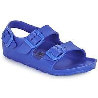 Chaussures Garçon Sandales et Nu-pieds Birkenstock MILANO EVA Bleu
