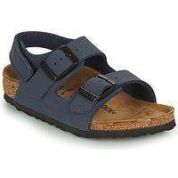 Chaussures Garçon Comme Des Garcon Birkenstock MILANO HL Bleu