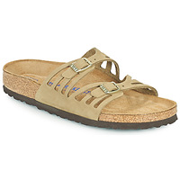 Chaussures Femme Mules Birkenstock GRANADA SFB Kaki