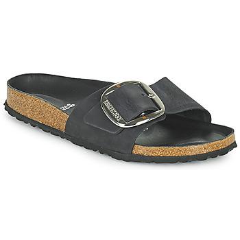 Chaussures Femme Mules Birkenstock MADRID BIG BUCKLE Noir