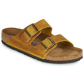 Chaussures Homme Mules Birkenstock ARIZONA SFB Jaune