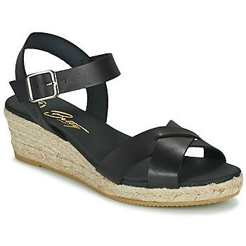 Chaussures Femme Sandales et Nu-pieds Betty London GIORGIA Noir
