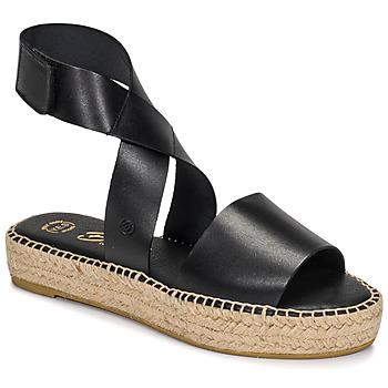 Chaussures Femme Sandales et Nu-pieds Betty London EBALUIE Noir