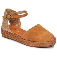 Chaussures Femme Sandales et Nu-pieds Betty London ANTALA Cognac
