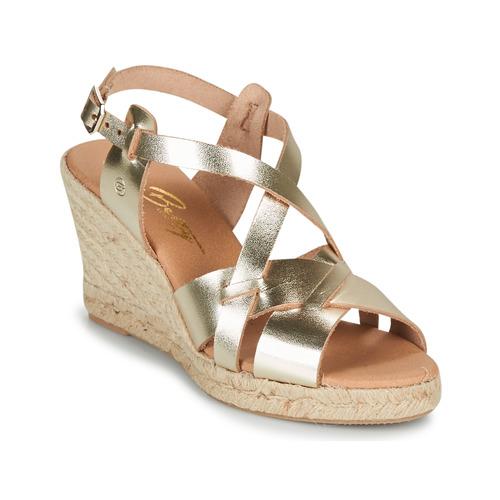 Chaussures Femme Sandales et Nu-pieds Betty London OSAVER Doré