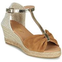 Chaussures Femme Sandales et Nu-pieds Betty London OREINOA Camel