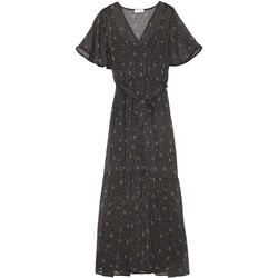 Vêtements Femme T-shirts & Polos Grace & Mila Robe longue doublée manches courtesde     mINI pRIX Noir