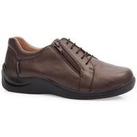 Chaussures Femme Derbies & Richelieu Calzamedi CHAUSSURES  DIABETIC 0749 BROWN