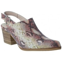Chaussures Femme Sabots Calzados Vesga Zueco Campero y Tejanos para Mujeres de Melcris 6511 Rose