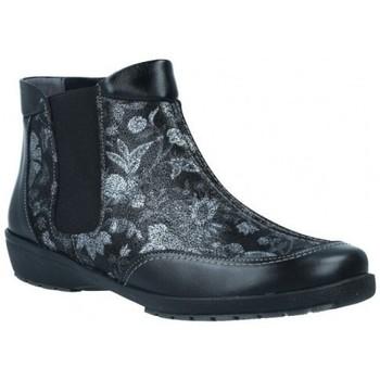 Chaussures Femme Bottines Suave 3025 Botines Tobilleros de Mujer Noir