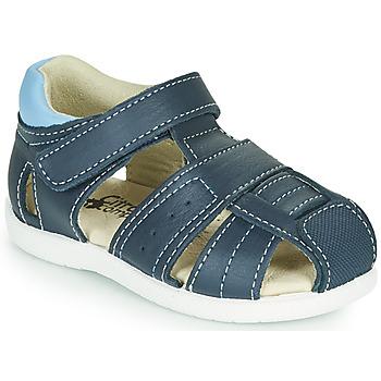 Chaussures Garçon Sandales et Nu-pieds Citrouille et Compagnie OLISS Bleu
