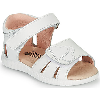Chaussures Fille Sandales et Nu-pieds Silvio Tossi - S OLESS Blanc