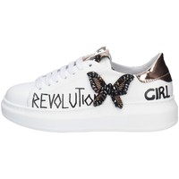 Chaussures Femme Baskets basses Gio + G546A BLANC