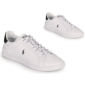 Chaussures Homme Baskets basses Polo Ralph Lauren HRT CT II-SNEAKERS-ATHLETIC SHOE Blanc / Noir