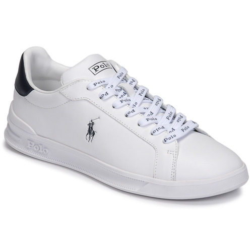 Chaussures Baskets basses Polo Ralph Lauren HRT CT II-SNEAKERS-ATHLETIC SHOE Blanc / Marine