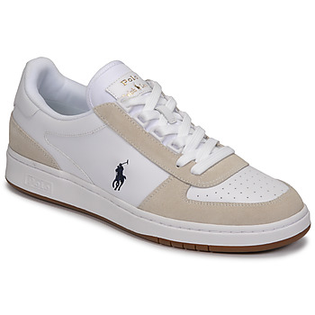 Chaussures Homme Baskets basses Polo Ralph Lauren POLO CRT PP-SNEAKERS-ATHLETIC SHOE Blanc
