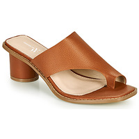 Chaussures Femme Mules Vanessa Wu COMMANI Camel