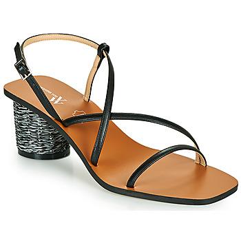 Chaussures Femme Sandales et Nu-pieds Vanessa Wu FRANNY Noir