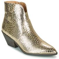 Chaussures Femme Bottines Vanessa Wu MINNA Doré