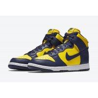 Chaussures Baskets montantes Nike Dunk High Michigan Varsity Maize/Midnight Navy-Midnight Navy