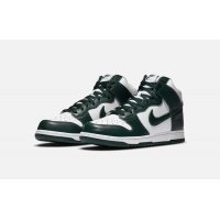 Chaussures Baskets montantes Nike Dunk High Pro Green White / Pro Green