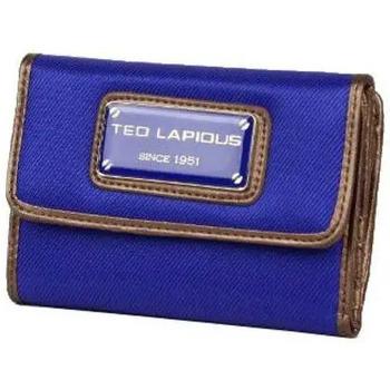Sacs Femme Portefeuilles Ted Lapidus Portefeuille toile  Tonic TL NY42002 bleu