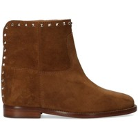 Chaussures Femme Boots Via Roma 15 3158 Beige