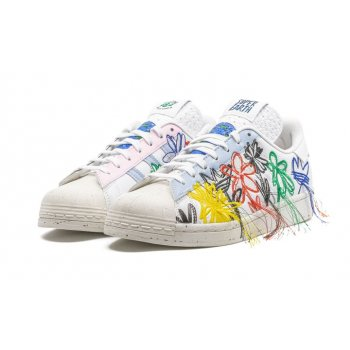 Chaussures Baskets basses adidas Originals Superstar x Sean Wotherspoon White/Off-White