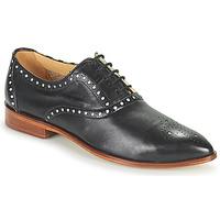 Chaussures Femme Derbies Melvin & Hamilton JESSY 61 Noir