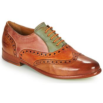 Chaussures Femme Derbies Melvin & Hamilton SELINA 24 Marron