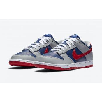 Chaussures Baskets basses Nike Dunk Low Samba  Hyper Blue/Samba-Silver