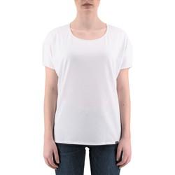 Vêtements Femme T-shirts manches courtes Ko Samui Tailors T-Shirt en soie dos Grce blanc  KSUTZ 847 GR Blanc