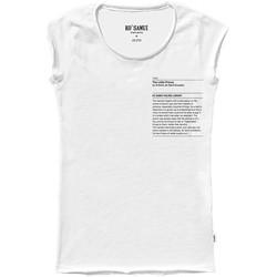 Vêtements Femme T-shirts manches courtes Ko Samui Tailors T-Shirt de la Bibliothque du Petit Prince Blan Blanc